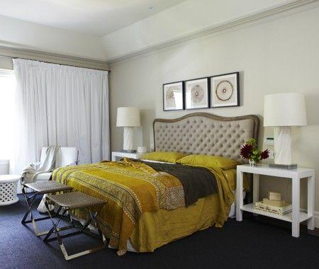 Marilyn Denis' Serene Bedroom   photo Angus Fergusson  Gluckstein Design   House & Home