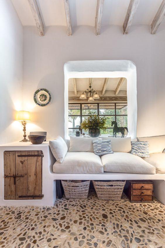 Seda y Nacar Más. COME SEE MORE Rustic Spanish Villa Interior Design Inspiration!