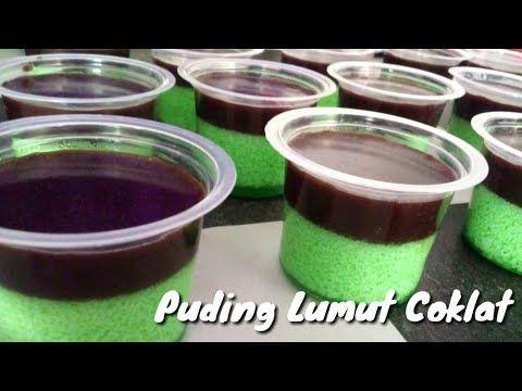 Resep Puding Lumut Coklat Yang Simple Youtube Snack Box Lumut Food