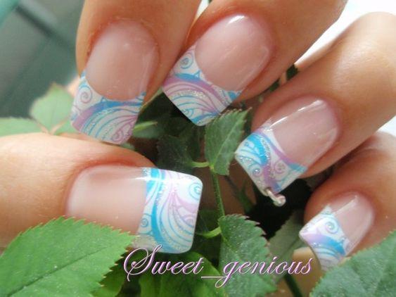 White french nails