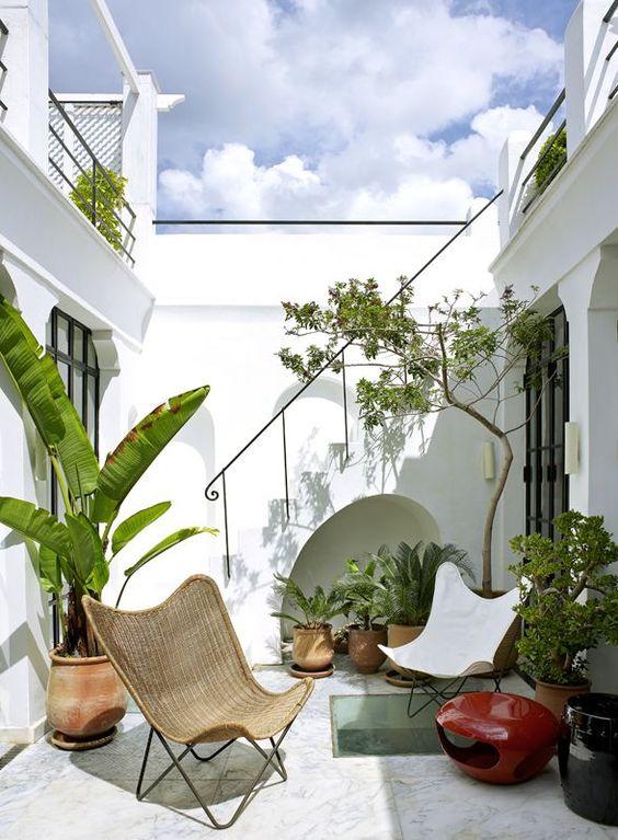 courtyard:
