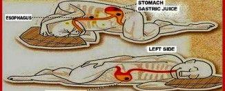 Waarom je beter op je linkerzijde kunt slapen! Why it's better to sleep on your rightside!