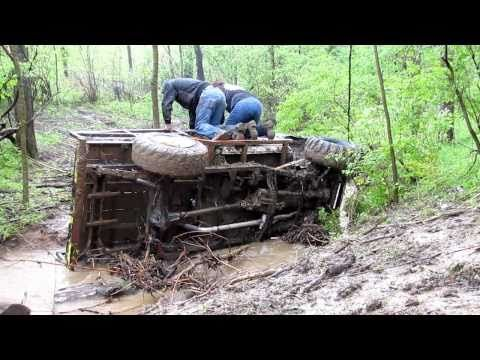 Mudding the Toyota Trail Truck