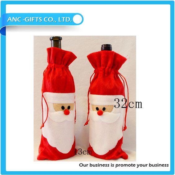 Recém barato promocional saco do presente do vinho para o natal-Decorações de Natal-ID do produto:1873268083-portuguese.alibaba.com