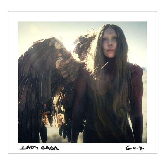 Lady Gaga – G.U.Y. (single cover art)