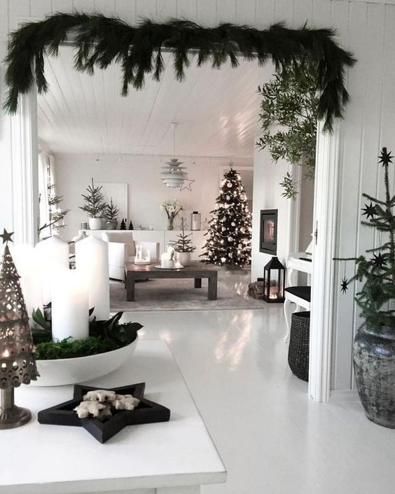 29 Amazing Scandinavian Christmas Decoration Ideas #interior #design #29 # #amazing #scandinavian #christmas #decoration #ideas