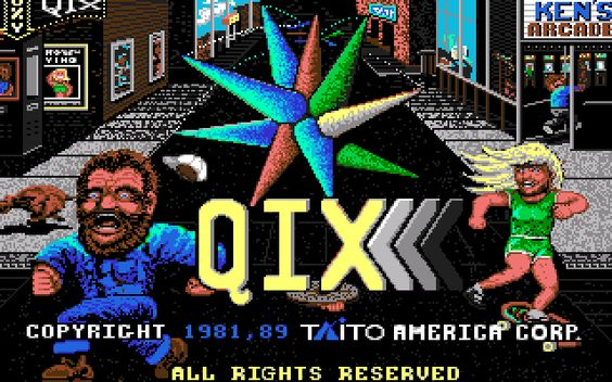 Qix (Commodore Amiga)