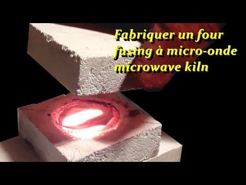 Fabriquer Un Microwave Kiln Pour Fusing Youtube Fused Glass Raku Ceramics Microwave