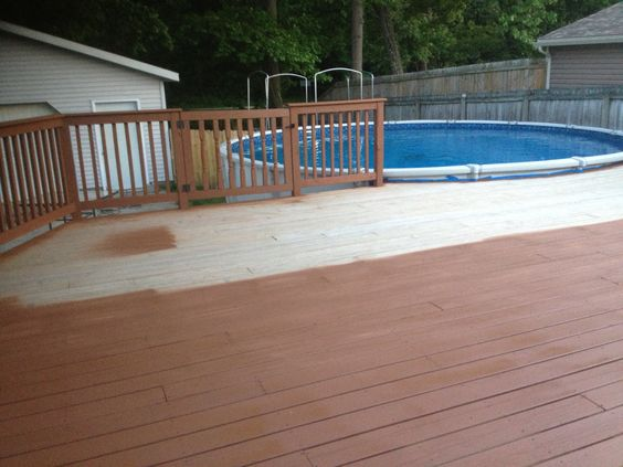 Decks Stains And Brown On Pinterest