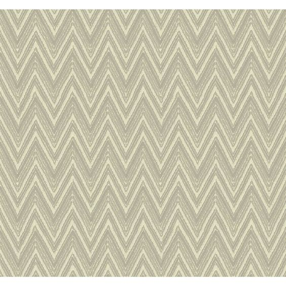 "Ciri 27' x 27"" Chevron and Herringbone 3D Embossed Roll Wallpaper"