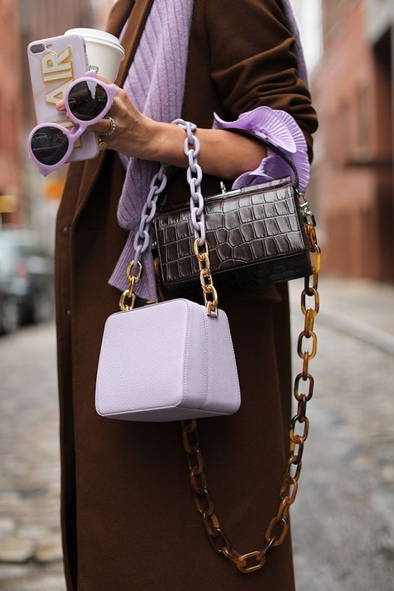 Sep 13, 2018 - Blair debuts her favorite new color combinations for fall. Click through for inventive new ways to wear lilac, mint, and emerald green this season!