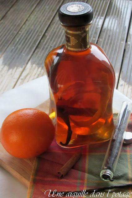 rhum-arrange-orange-cannelle-vanille. Bouteilles de Rhum Réunion en vente sur www.yumhbox.com