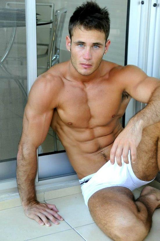 Gorgeous Jock Model Darien Theller Nude Male Models