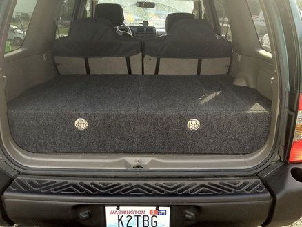 Cargo Drawers for Nissan Xterra - by toddbg @ LumberJocks.com ~ woodworking community