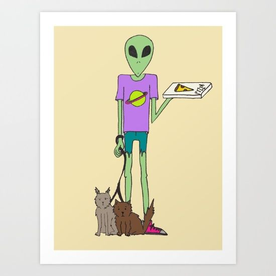 Galactic+Delivery+Art+Print+by+Jessica+Nielsen+-+$15.00