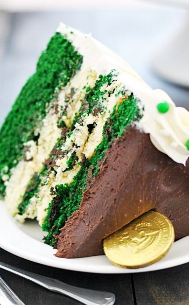 Green Velvet Cheesecake Cake | Recipe | Cheesecake, Patrick o'brian ...