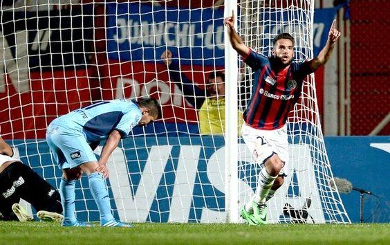 Blog Esportivo do Suíço: San Lorenzo goleia Bolívar e fica perto da decisão da Libertadores