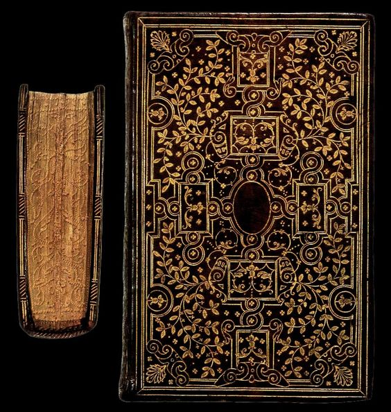 Book binding 16th century france google search graphic for Beautiful binding