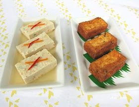 Anncoo Journal - Come for Quick and Easy Recipes: Guest Post: Tofu with Prawns - Steamed and Deep Fried