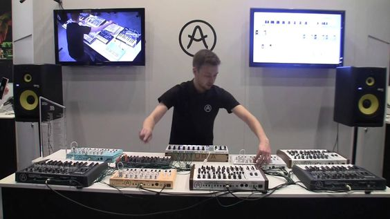 Arturia BeatStep Pro - Live Demo Musikmesse 2015