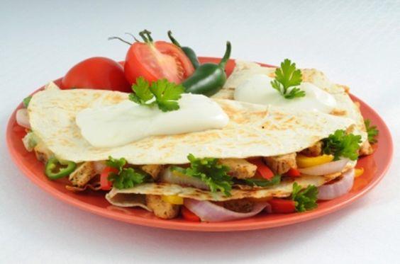 Quesadillas mexicanas. Ver receta: http://www.mis-recetas.org/recetas/show/5252