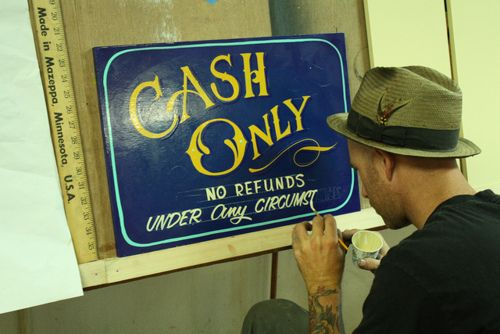 DustySigns - talented sign writer