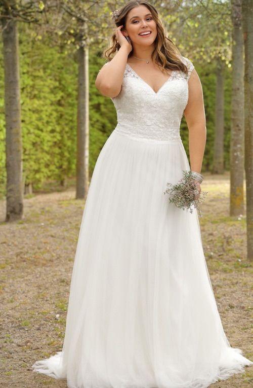 robe de mariée taille plus