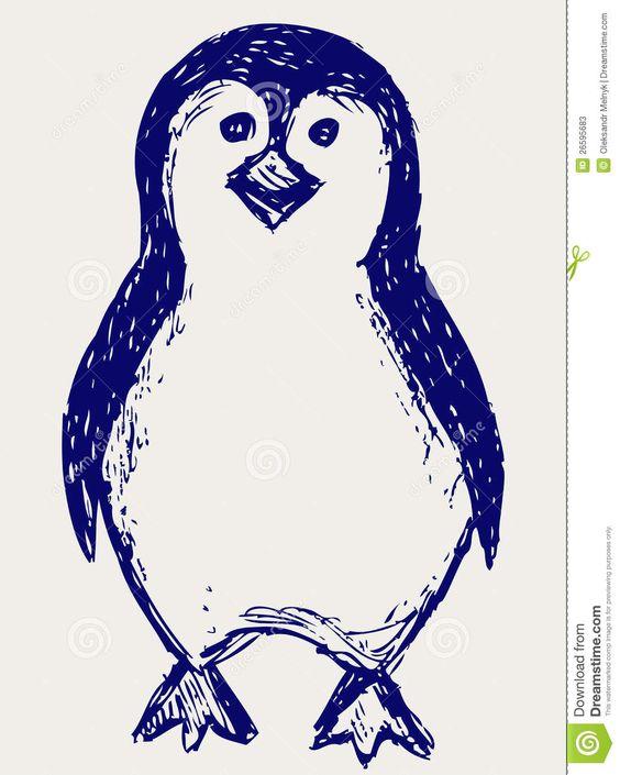 pinguino doodle - Buscar con Google