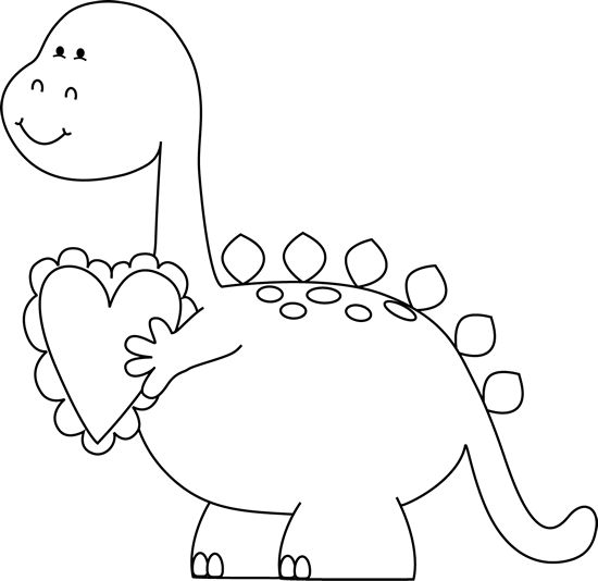 Clip Art Valentine Clip Art Black And White black and white valentines day dinosaur clip art black