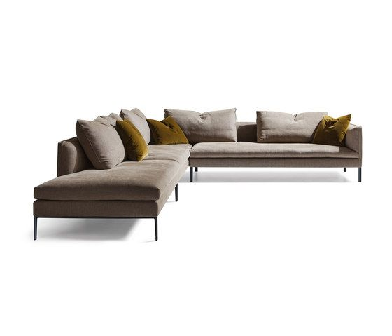 Paul Sofa by Molteni \ C Modular seating systems 沙发