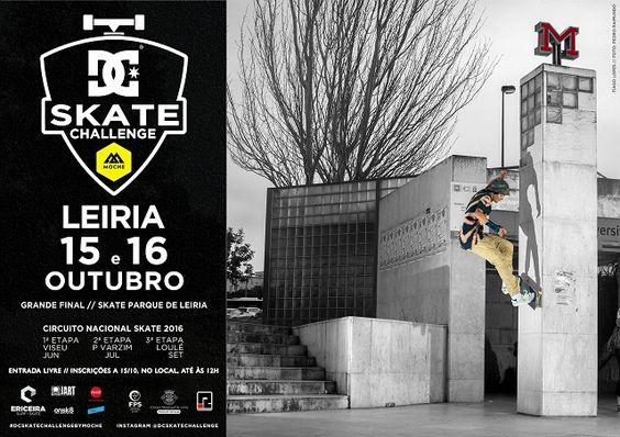 DC Skate Challenge 2016: Leiria é palco das decisões dos títulos nacionais