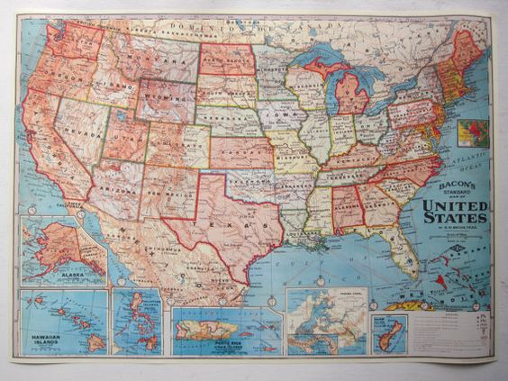 Mark your family road trips USA Travel Map Kit – Travel Map Of Usa