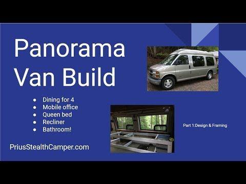 1 Panorama Camper Van Conversion Build Transformer Chevy Express Youtube Chevy Express Van Conversion Build Van Conversion