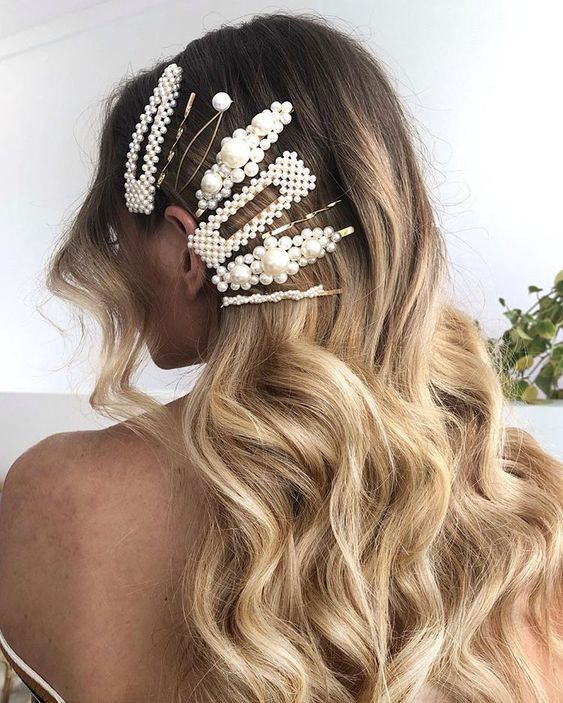 Haven't you heard? Layering your clips is double the fun ❤️ Tap to shop!  #barrettes #hair #love #fashion #trends