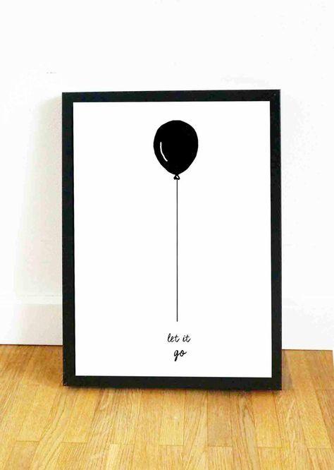 Motivierendes Poster Gegen Liebeskummer Und Traurigkeit Für Deine ... Deko Fur Die Wand