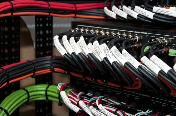 Ideaworks' Systems Rack Wiring - www.ideaworks.co.uk