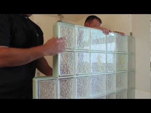 How To Install A Glass Block Shower Wall Enclosure In A Bathroom New Bathroom Remodeling Columbus Design Inspiration
