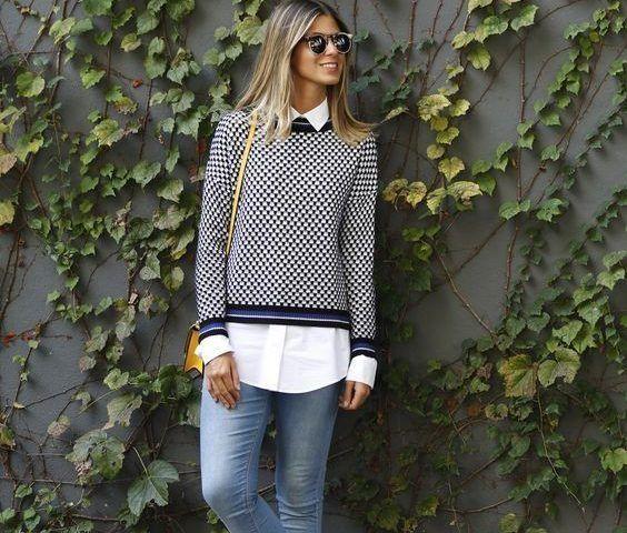 صور ازياء الفاشونيستا سيدات مصر Women Long Sleeve Blouse Fashion