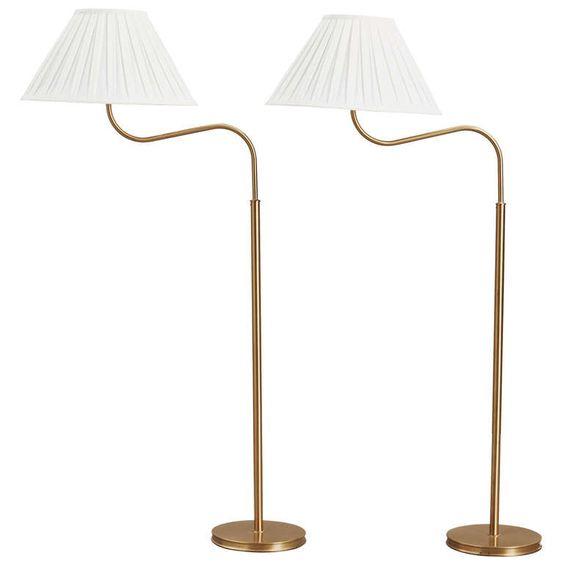 "Josef Frank ""Big Camel"" Floor Lamp, Svenskt Tenn, Sweden, 1939 | From a unique collection of antique and modern floor lamps  at http://www.1stdibs.com/furniture/lighting/floor-lamps/"