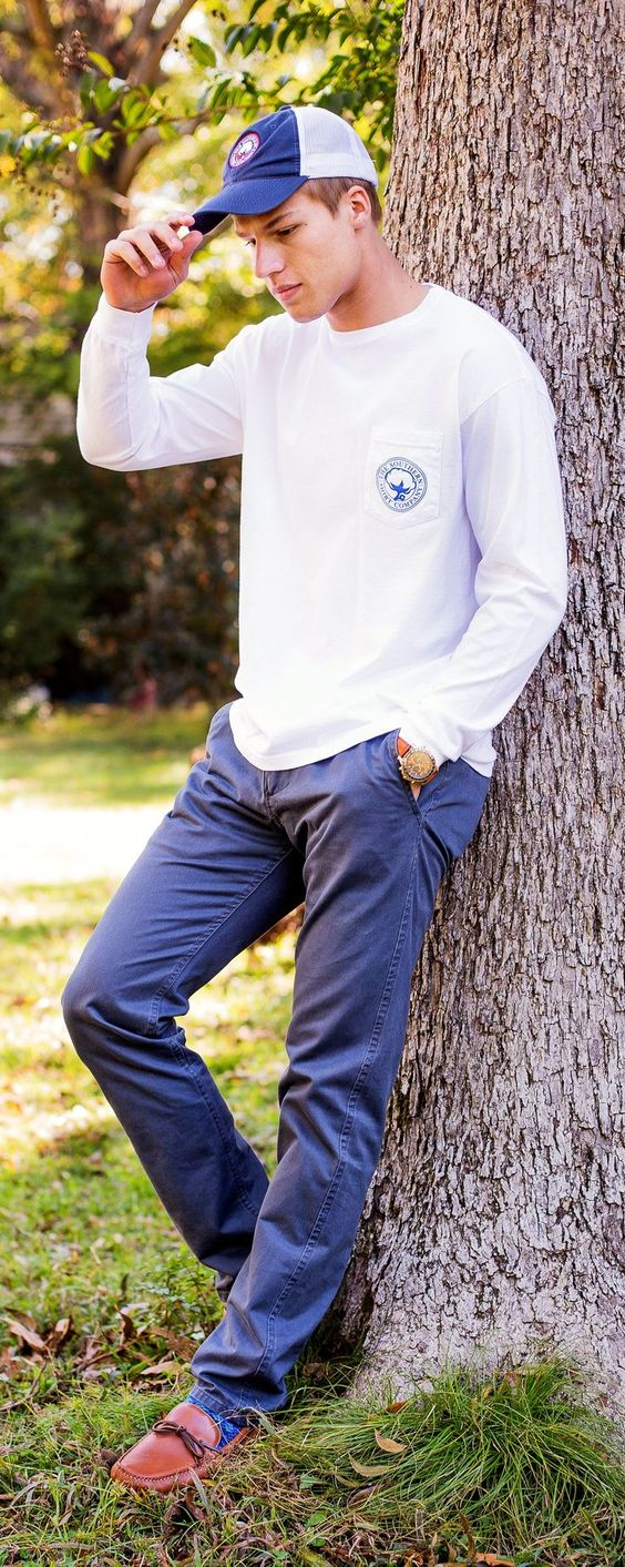 #DearSouthernShirt. A fall look for him that is sure to be on repeat. #GiftOfComfort