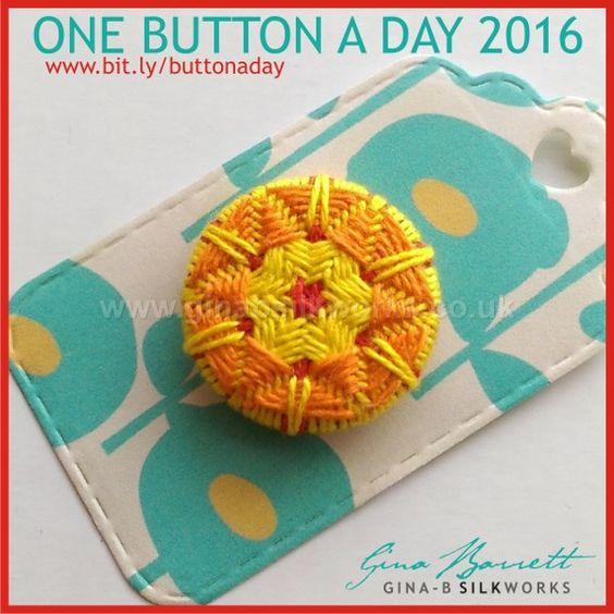Day 74: Helene's Star #onebuttonaday by Gina Barrett