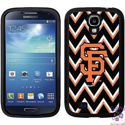 $25.50: San Francisco Giants Galaxy S4 Guardian Case (Sketchy Chevron Design)