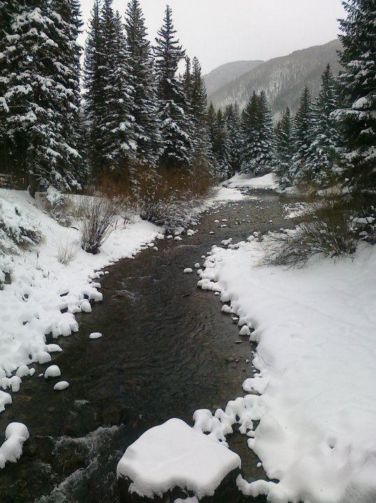 Gore Creek...Vail, Colorado
