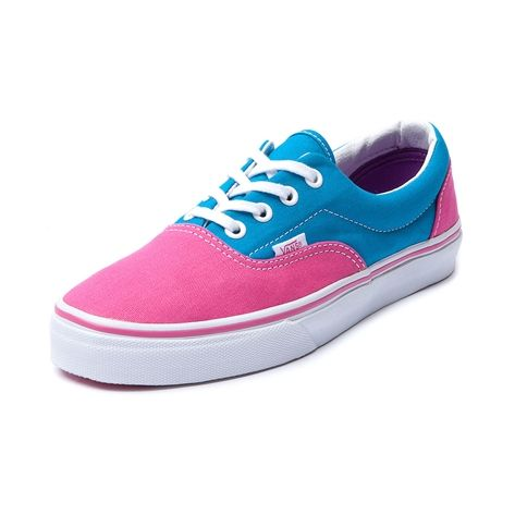 Vans Pink And Blue