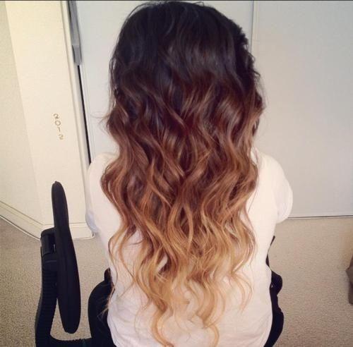 prettiest ombre hair yet!