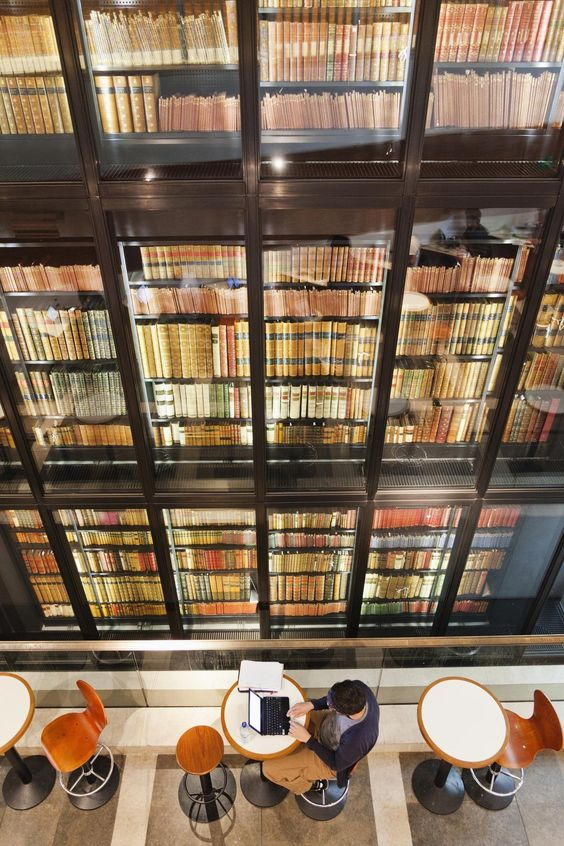 The British Library in London is a must visit for any book lover!
