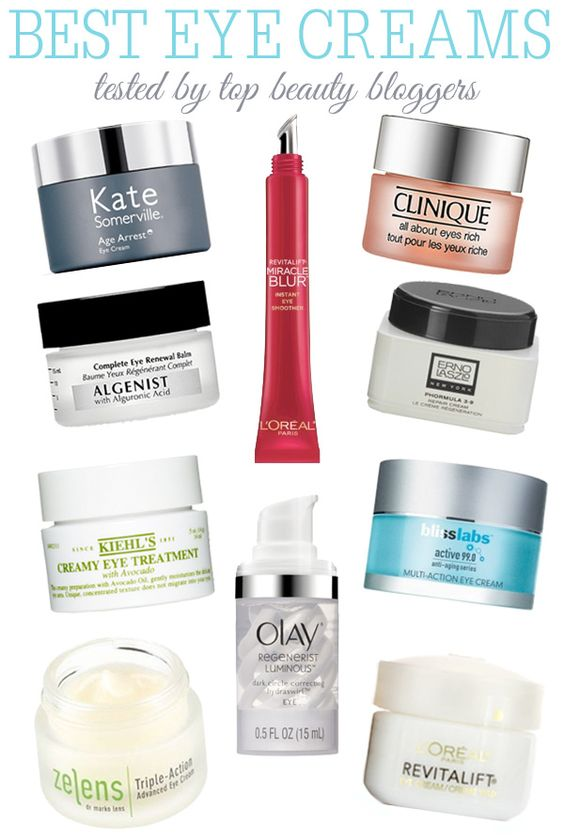 The best eye creams tested by top beauty bloggers | Eye creams you should check out from top bloggers. #youresopretty