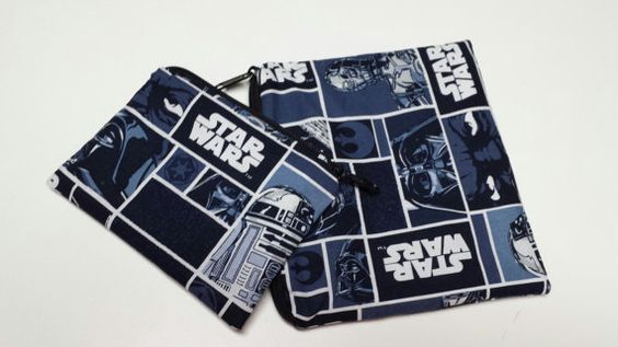 Reusable Sandwich Bag Set, Star Wars, Snack Bags, Gadget Bags, Small Toy Bags…