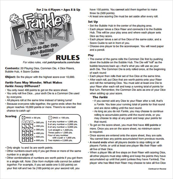 farkle rules 5 of a kind motorcycle
