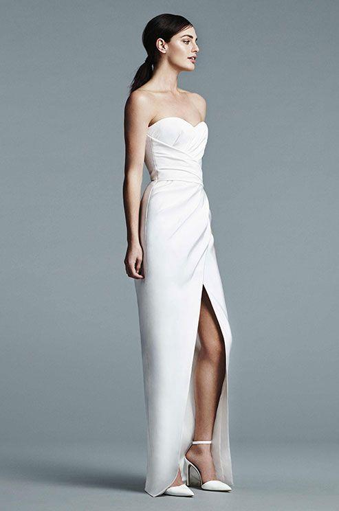 J mendel white dress ne years